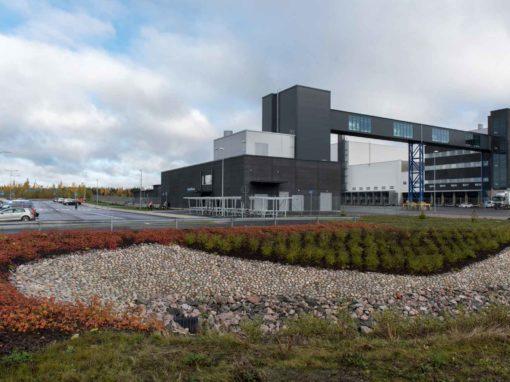 Hulevesiallas ja viheralueet | Sipoon logistiikkakeskus